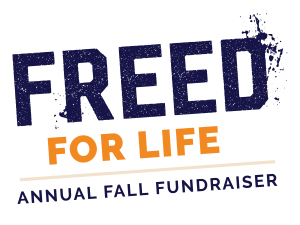 Freed for Life - Annual Fall Fundraiser Logo